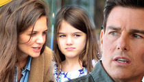 Tom Cruise Divorce -- Katie Holmes Filed ... Wants SOLE Custody of Suri