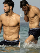 Tennis Stud Shows Beach Bod in Ibiza!