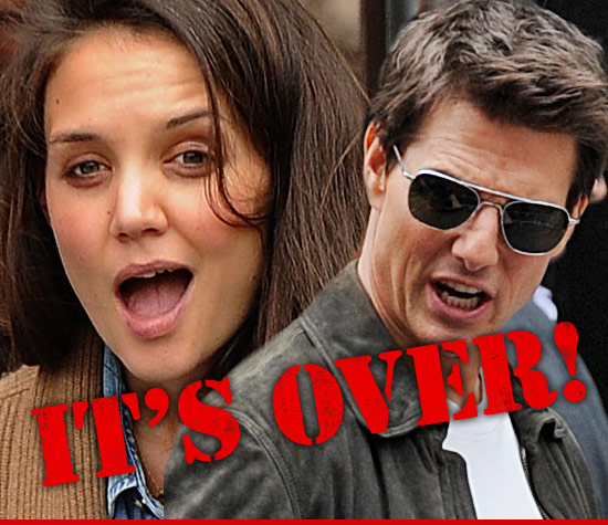 Tom Cruise and Katie Holmes to Divorce.