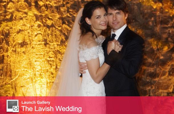 TomKat Flashback: See the Couple's Lavish Wedding Ceremony