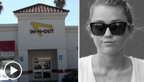 Miley Cyrus -- So Famous... She Gets Free Meat