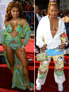 Worst Dressed Stars of BET Awards' Past