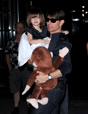 Suri, Tom and Katie