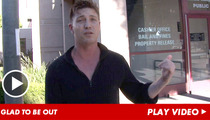 Lane Garrison -- Being in Jail Again Was a 'Wakeup Call'