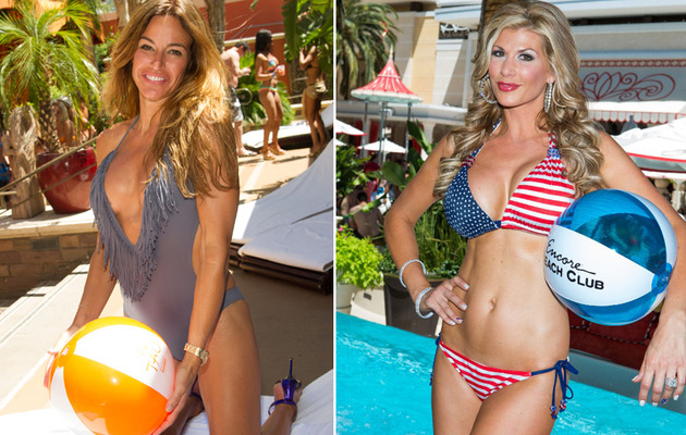 Kelly Bensimon & Alexis Bellino Show Bods in Sexy Swimwear!