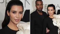 Kim Kardashian Shows New Face in France!