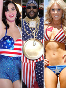 Happy Fourth of July -- See Celebs Rock Stars and Stripes!