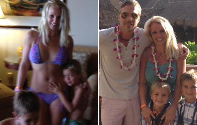 Britney Spears Shows Bikini Bod In Hawaii