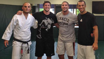 Tim Tebow -- Hardcore MMA Training with Fighting LEGENDS