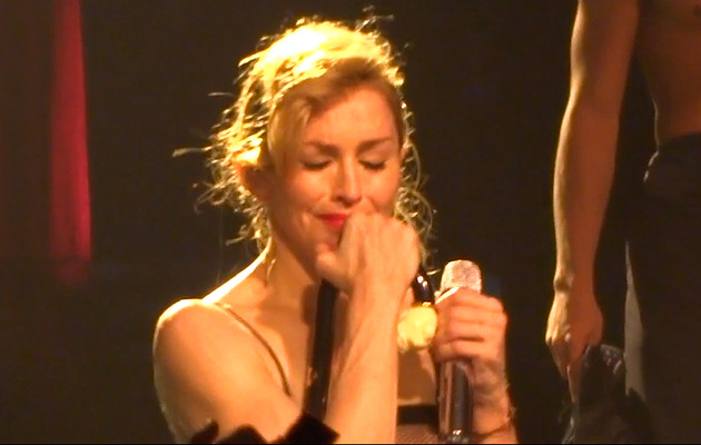 Madonna Breaks Down on Stage -- Real or Fake?