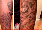 Sean Kingston -- LET'S-A-GO!!! Get a Mario Kart Tattoo