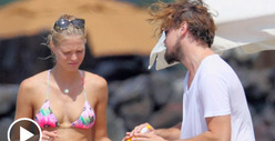 Leonardo DiCaprio -- New Summer, New Supermodel 