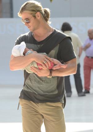 Chris Hemsworth's Awww-dorable Baby Pictures