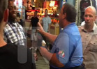 Gov. Chris Christie -- Fightin' Words On the Jersey Shore [VIDEO]