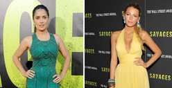 Sexy &#039;Savages&#039; -- Salma Hayek vs. Blake Lively: Who&#039;d You Rather?