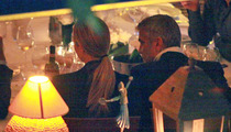 George Clooney & Stacy Keibler -- Food Poisoned in Italy