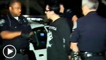Punk Rock Singer -- Arrested for DUI After Multi-Car Smash-Up