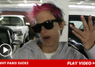 Sam Ronson -- Paris Hilton Is a Disgrace to DJs
