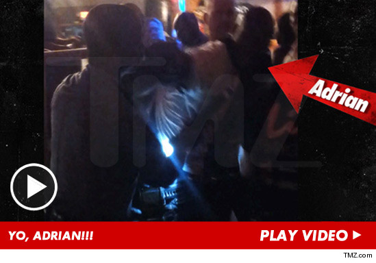 Video of Adrian Peterson being arrested