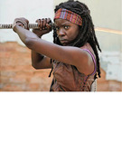 """Walking Dead"": Michonne Slices & Dices In First Season 3 Clip!"