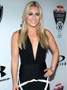 Lindsey Vonn Trades Ski Gear for Sexy Dress!