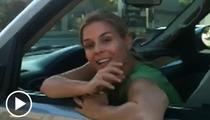 'Iron Chef' Cat Cora -- PISSED on Post-DUI Crash Video