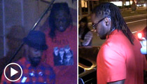 NFL Draft Pick Trent Richardson -- 21st Bday with Jamie Foxx