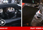 Robin Thicke -- Smashes Porsche in