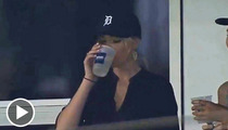 Kate Upton -- I Had NO Liquor in My Box ... at Tigers Game