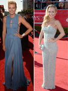 Hayden Panettiere, Maria Sharapova Stun at ESPY Awards