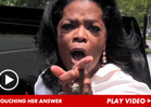 Oprah -- Tom Cruise's Crazy Couch Stunt Did NOT Doom His Marriage