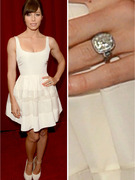 Jessica Biel Shows Off Massive Engagement Ring at ESPY Awards!