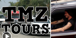 David Beckham -- SCORES On TMZ Tour