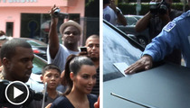 Kim Kardashian -- Gets a Parking Ticket at Her Own Store Event!