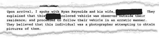 0714 ryan reynolds rip arrival 1 Ryan Reynolds Married to Blake Lively ... According to Cops