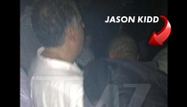 Jason Kidd -- Carried Out of Club Before DWI Arrest