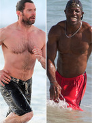 Shirtless Stars Hit The Beach -- Who Looks Best?