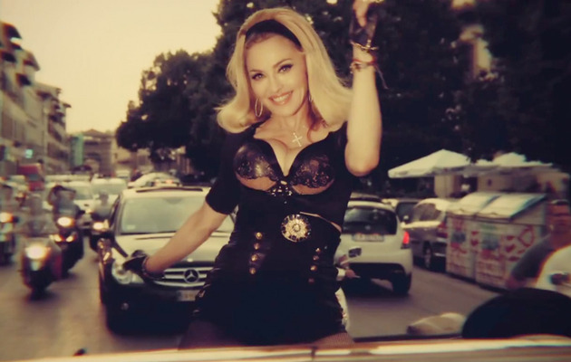 "Madonna Gets Jiggly In ""Turn Up the Radio"" Music Video"