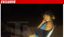 Michael Lohan's Ex -- Wing in a Sling