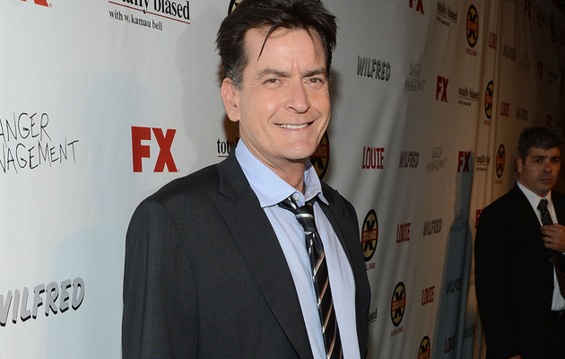"Charlie Sheen ""Genuinely Interested"" In ""American Idol"""