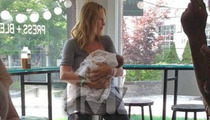 Uma Thurman -- Shows Off New Baby ... One Day After Birth!