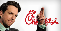 Ed Helms -- I Won't Eat at Chick-fil-A ... 'Cause It's Anti-Gay