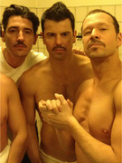 New Kids On the Block Stars Go Shirtless on Twitter
