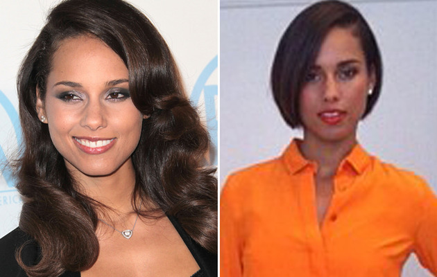 Alicia Keys Chops Off Hair -- See Her Short New 'Do!