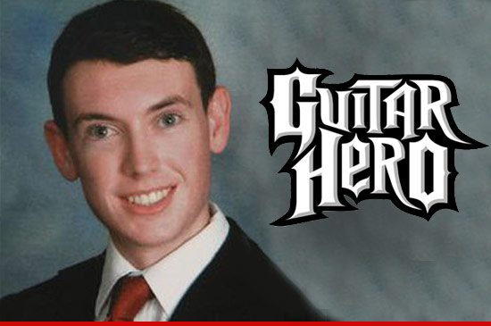 James Holmes liked Guitar Hero