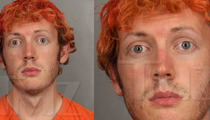 James Holmes -- The Bizarre Mug Shot