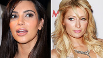 Kim Kardashian Makes Dig at Paris Hilton Sex Tape