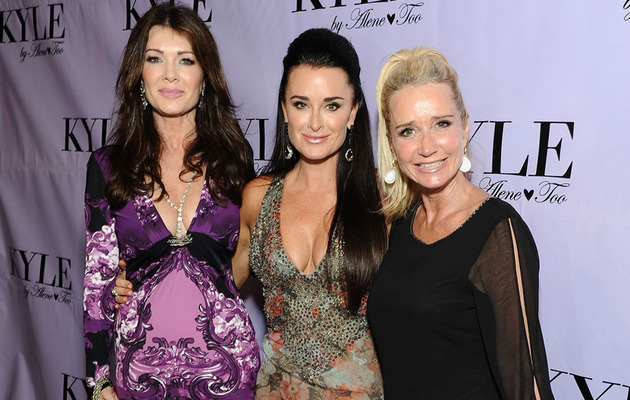 """Real Housewives"" Reunite To Support Kyle Richards!"