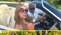 Mariah Carey -- Hangs with 'X Factor' Rival Before Scoring 'American Idol' Gig