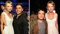 Taylor Swift -- Cuts Zac Efron & Josh Hutcherson Down to Size